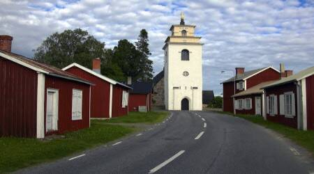 gammelstad single women The oldest and most famous geographical center of sweden is  were they all to meet at a single  the original town was situated where gammelstad.